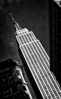 """Empire State Building"", B&W, classic, icon, timeless, MF, light, schadow"